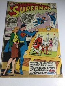 Superman 162 Vg+ Very Good+ 4.5 Bottom Staple Detached DC Comics