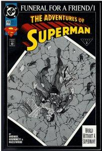 Adventures of Superman #498 (DC, 1993)