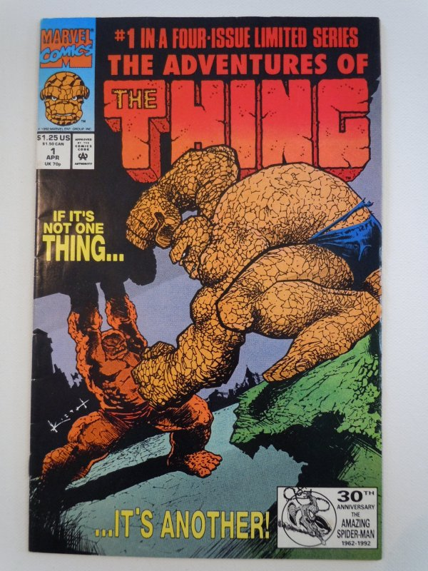 The Adventures of the Thing (1992)- 4 Issue Mini-Series
