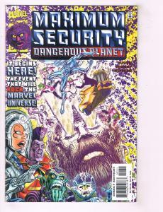Maximum Security Complete Marvel Comics Ltd Ser # 1 2 3 + Dangerous Planet TW19