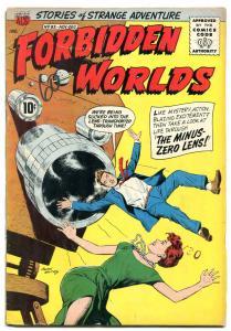 Forbidden Worlds #92 1960- Ogden Whitney- ACG Silver Age VG