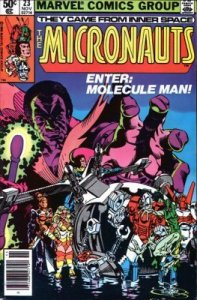 Micronauts #23 Marvel 1980 4.0 VG (Stock Photo)