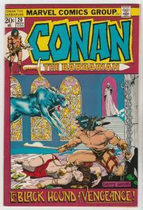 Conan the Barbarian #20 (Nov-72) FN/VF Mid-High-Grade Conan the Barbarian