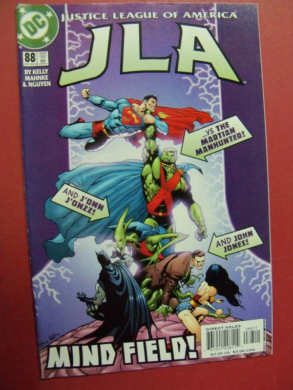 JUSTICE LEAGUE OF AMERICA  #88 VF/NM OR BETTER DC COMICS