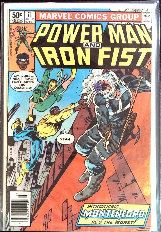 Power Man and Iron Fist #71 (1981)