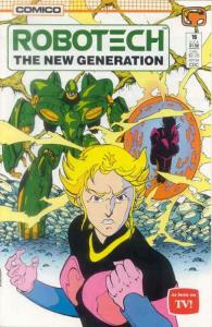 Robotech: The New Generation #16 FN; COMICO | save on shipping - details inside