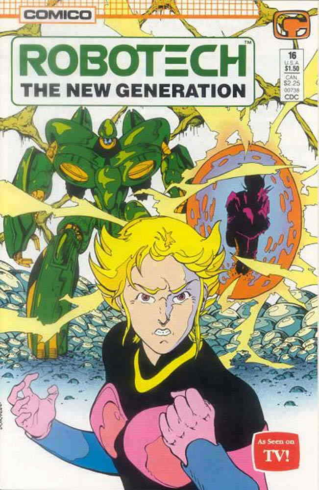 Robotech The New Generation #23 FN 1988 Stock Image