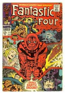 Fantastic Four 77   Silver Surfer
