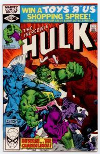 Incredible Hulk #252 NM 9.4 SUPER HIGH GRADE - ORIGINAL OWNER - UNREAD!