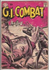 G.I. Combat #77 (Oct-59) VG+ Affordable-Grade