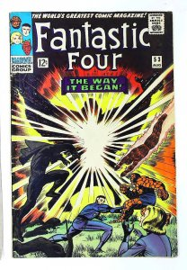 Fantastic Four (1961 series) #53, VG+ (Actual scan)