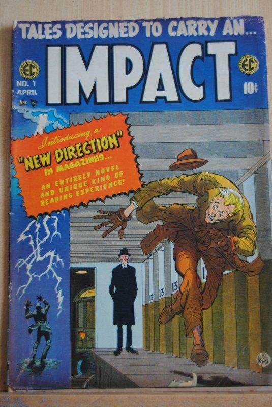 IMPACT #1, EC at it's best, Rare, Rare, Rare!!