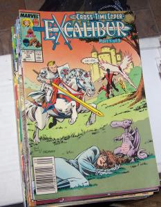 EXCALIBUR # 12 SEPT 1989 MARVEL CROSS TIME CAPER PT 1 X MEN