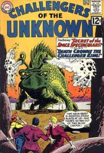 Challengers of the Unknown (1958 series) #26, VG+ (Stock photo)