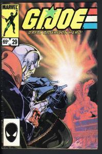 G.I. JOE #29-RARE THIRD PRINTING-HTF-1984-DESTRO
