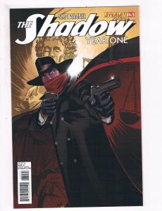 The Shadow Year One # 3 NM 1st Print Sub. Variant Dynamite Ent. Comic Book S67