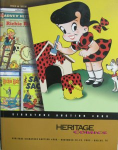 HERITAGE COMICS AUCTION CATALOG November 2003 Dallas TX VG