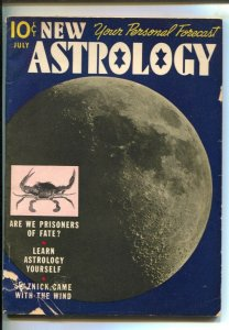 New Astrology #1 7/1940-1st issue-David O Selznick-moon photo cover-Are We P...