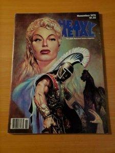 Heavy Metal Vol. 2 #7 ~ VF - NEAR MINT NM ~ November 1978 illustrated Magazine