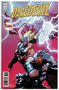 Daredevil #600 Mighty Thor Variant (Marvel, 2018) VF/NM