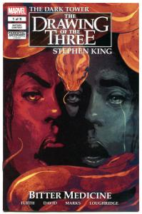 STEPHEN KING DARK TOWER Bitter Medicine, Drawing of the Three #1, VF/NM, 2016