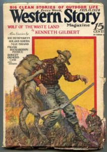 Western Story Pulp February 11 1928- Wolf of the Wasteland