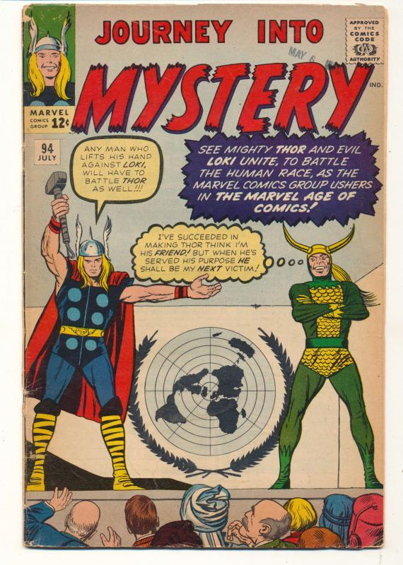 Journey into Mystery (1952 series) #94, VG (Actual scan)