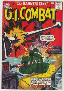 G.I. Combat #105 (May-64) VF/NM High-Grade The Haunted Tank