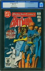 Detective Comics #528 (DC, 1983) CGC 9.6