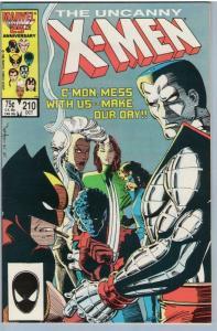 X-Men 210 Oct 1986 NM- (9.2)