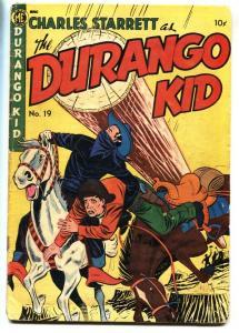 Durgango Kid #19 1952- Golden Age Western- Fred Guardineer G+