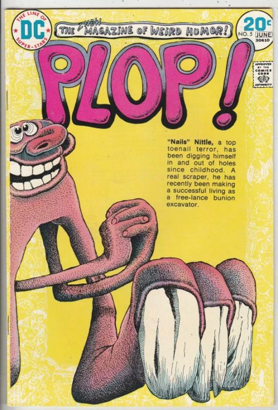 PLOP! #5 (Jun-74) VF/NM High-Grade