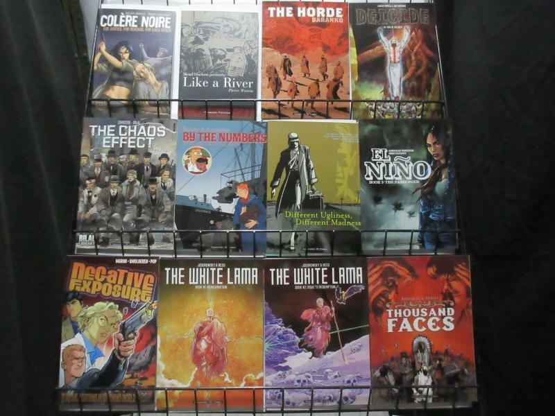 DC/HUMANOIDS TRADE/GRAPHIC NOVEL WHOLESALE COLLECTION! 3 COPIES OF 14 BOOKS