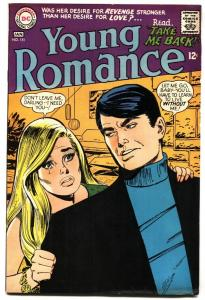 YOUNG ROMANCE #151 1968-DC ROMANCE FN+