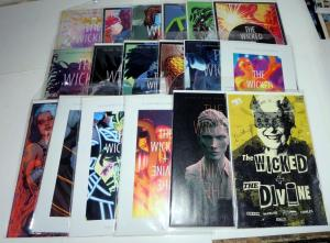 THE WICKED + THE DIVINE COLLECTION 1!18 books,Variant covers! VF-NM