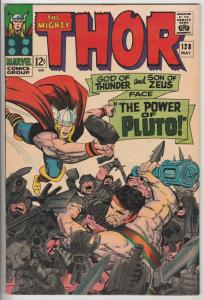 Thor, the Mighty #128 (May-66) VF/NM+ High-Grade Thor