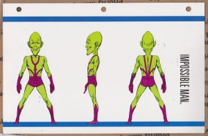 Official Handbook of the Marvel Universe Sheet- Imossible Man
