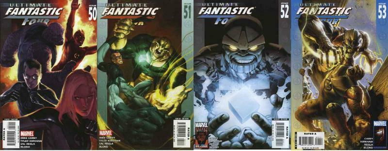 ULTIMATE FANTASTIC FOUR (2004-2009) 50-53  THANOS !