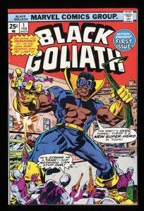 Black Goliath #1 FN/VF 7.0