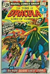 TOMB OF DRACULA#44 VF 1976 MARVEL BRONZE AGE COMICS