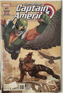 Sam Wilson Captain America #17 (2015 Marvel)