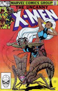 Uncanny X-Men, The #165 VG; Marvel | low grade comic - save on shipping - detail