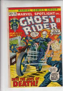 Marvel Spotlight on Ghost Rider #10 (Jun-73) VF/NM High-Grade Ghost Rider