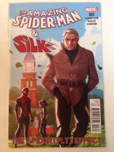 Amazing Spider-man And Silk 3 Near Mint