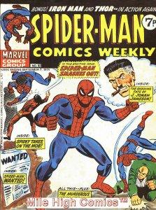 SPIDER-MAN WEEKLY  (#229-230) (UK MAG) (1973 Series) #82 Very Good