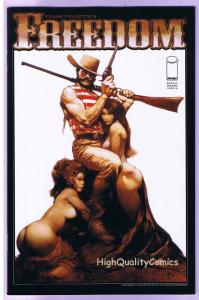 Frank Frazetta's FREEDOM, VF/NM, Western, Gunfights, 2009, more FF in store