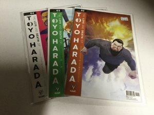 The Life And Death Of Toyo Harada 2 3 4 Nm Near Mint Valiant Comics