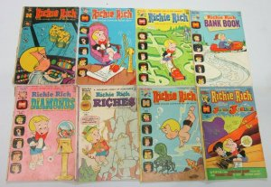 Richie Rich Harvey lot 29 different books from 15-50 cent covers (Bronze years)