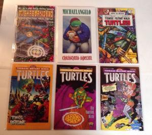 Teenage Mutant Ninja Turtles TMNT One Shot 6 Book NM Lot Set Run Draw And More