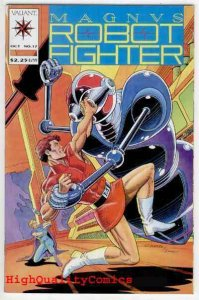 MAGNUS, ROBOT FIGHTER #17, NM+, Roger Stern, Valiant, more in store